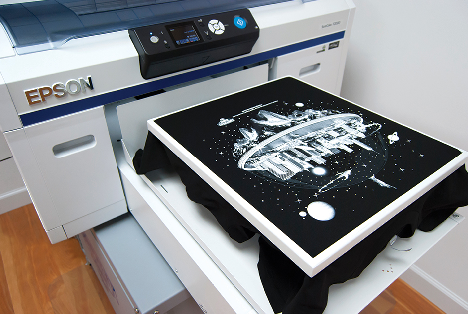 heat pressed tee shirt